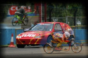 Drag Race & Drag Bike Series-I Day 2 @ Citeureup | West Java | Indonesia
