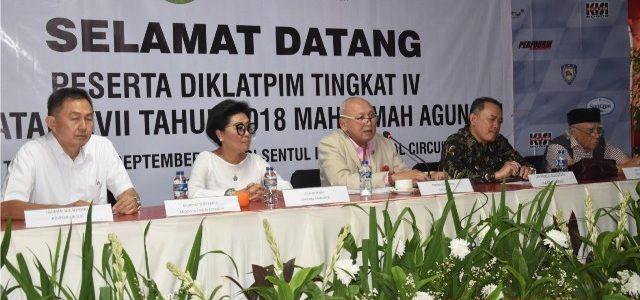 Sirkuit Sentul – Sabtu (22/09) kemarin, peserta Pendidikan dan Pelatihan Kepemimpinan (DIKLATPIM) Tingkat IV angkatan XVII Mahkamah Agung Republik Indonesia mengunjungi Sirkuit Sentul. Dalam kunjungannya, para peserta DIKLATPIM ini disambut […]