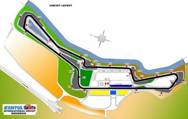 Circuit Sentul : Sentul international circuit